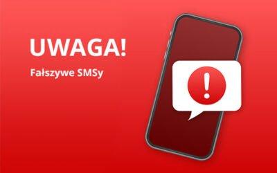 Fałszywe SMSy – Uwaga!