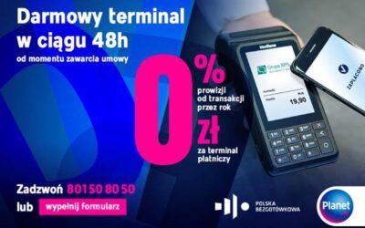 Darmowe terminale – 0% prowizji
